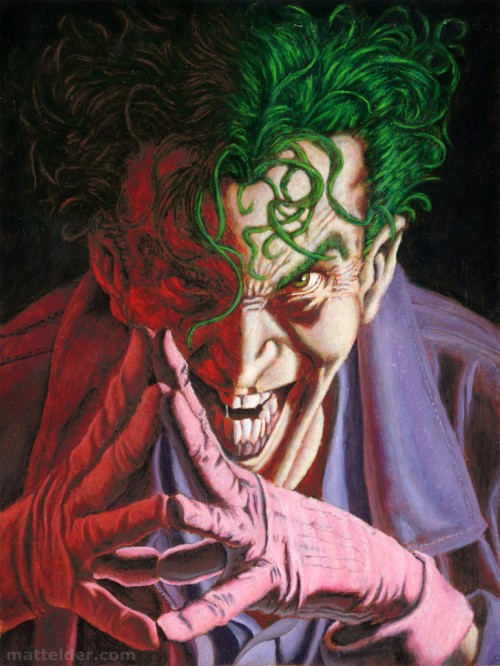 Comic Joker Painting | www.imgkid.com - The Image Kid Has It!