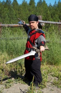 Unfortunately, none of these generals are known to LARP. So here is a picture of Peter Dinklage doing it instead!