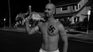 At least the guys beating me didn't have swastika tattoos. I think.