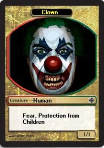 Clown token