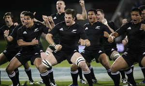 Some people prefer a river dance or moon walk, but I like to sart my games of with an All Blacks' style Haka.